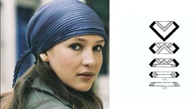 Použijte náš hedvábný Isa.art šátek jako čelenku či pokrývku hlavy. Několik  tipů 246e2ca203