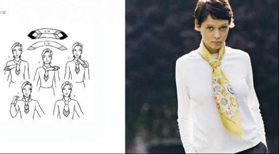 A další zajímavé tipy jak uvázat Isa.art šátek  ... 9378a027ca
