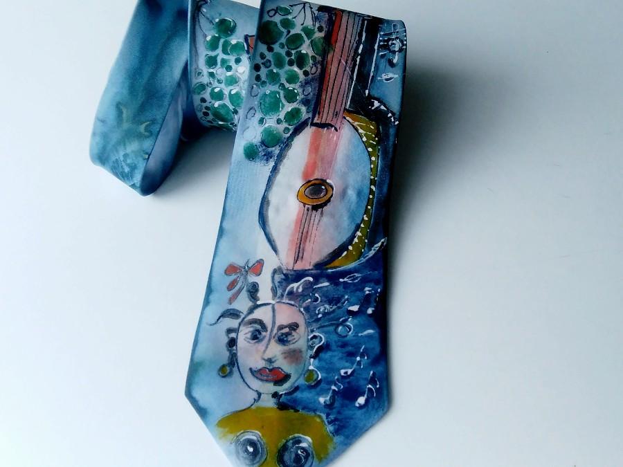7173b97a725 Originální hedvábná kravata